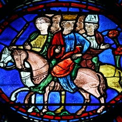 Charlemagne Window: Journey to Spain