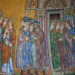 Facade Mosaic: Translation of St. Mark (Detail)