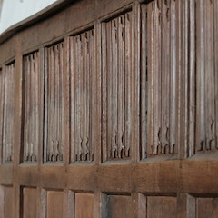 Linenfold Panelling of Choir Stalls