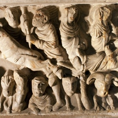Sarcophagus of St. Sernin: Martyrdom of St. Sernin