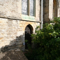Small Door on South Side of Chancel