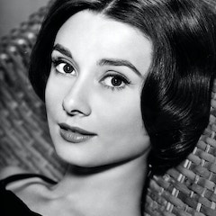 Audrey Hepburn in 1957
