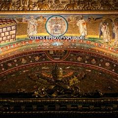 Triumphal Arch Mosaic (c. 435): Center