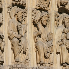 Last Judgment Portal (c.1230): Abraham's Bosom