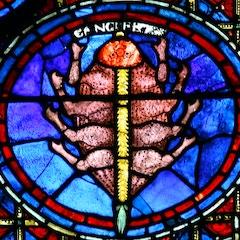 Zodiac Window (c.1220): Cancer
