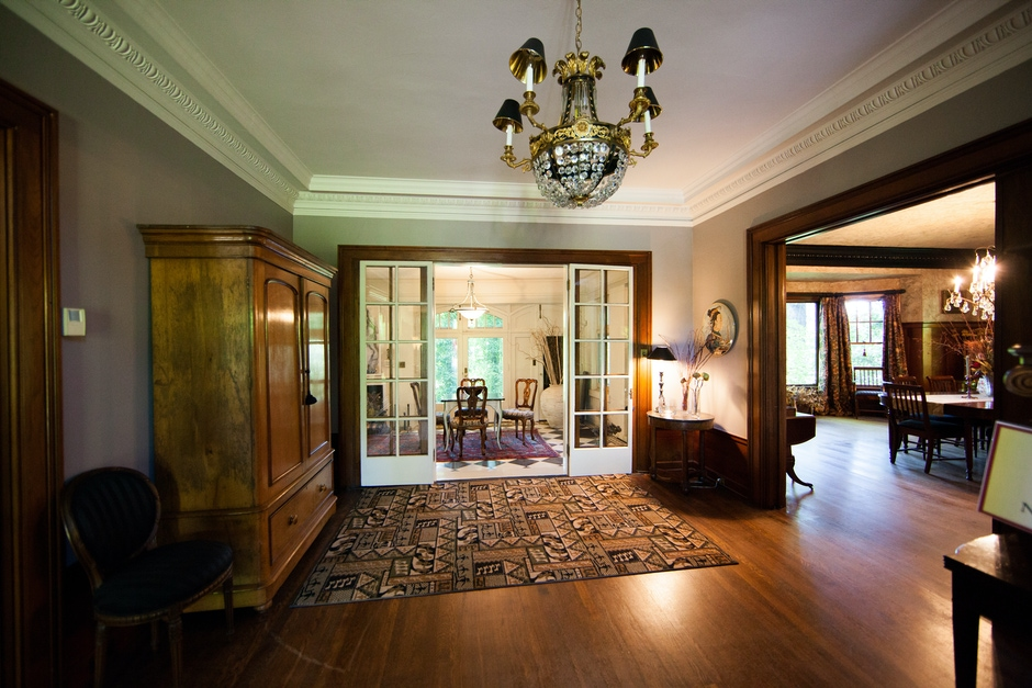 Doors to Sunroom