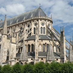 East End, Bourges Cathedral