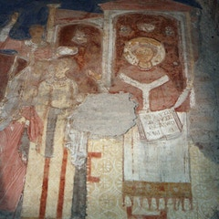 Fresco: Transfer of St. Clement's Relics (11C)