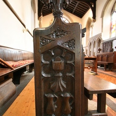 Bench-End on North Side of Chancel