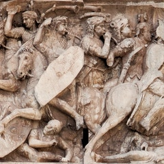 Trajanic Frieze: Battle Scene