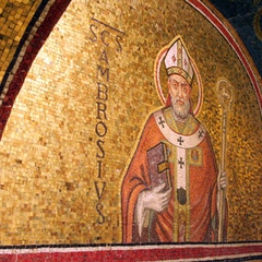 Tomb of Pope Pius XI (d.1939): St. Ambrose