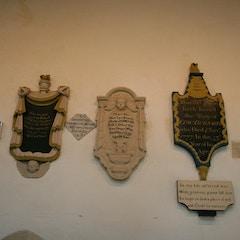 Memorials in South Aisle