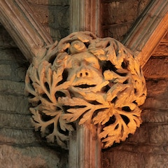 Roof Boss: Green Man