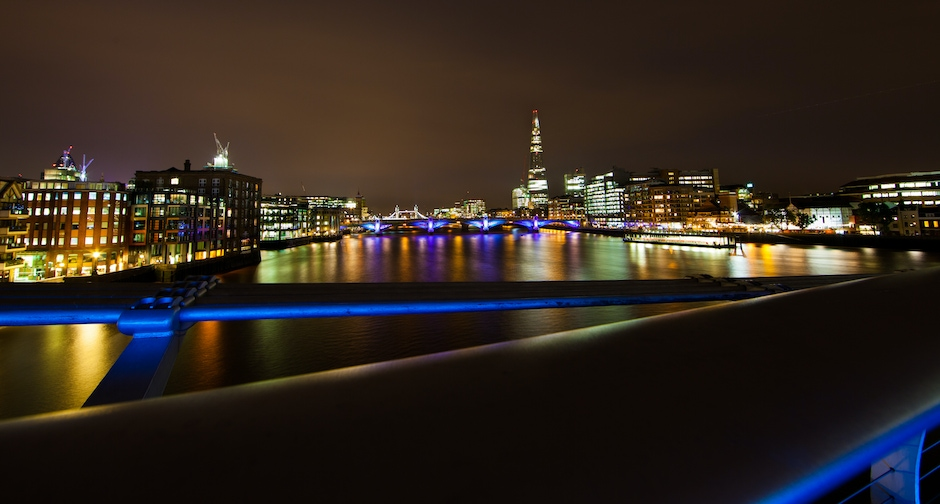 Thames Panorama by Night