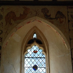Window Beneath Griffin and Basilisk