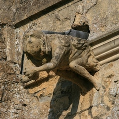 Gargoyle on West Side of South Porch