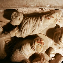 Sarcophagus of St. Sernin: Burial of St. Sernin