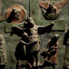 Bronze Door: The Crucifixion