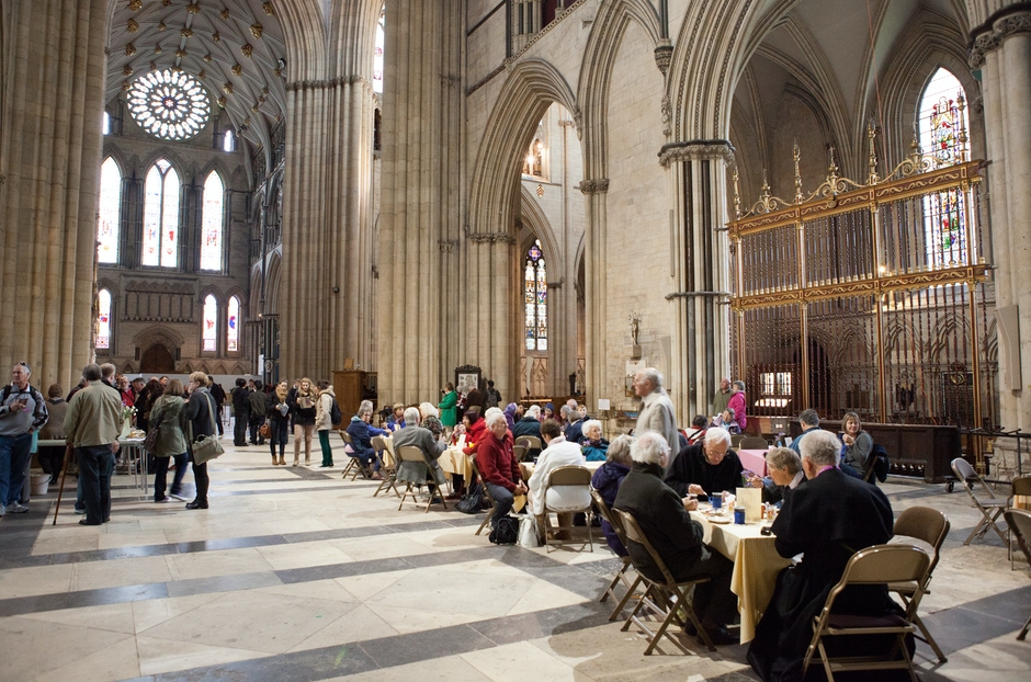 Tea and Cakes in the Minster