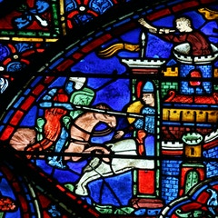 Charlemagne Window: Battle for a City