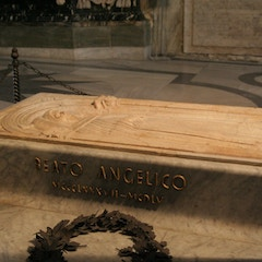 Tomb of Dominican Painter Fra Angelico