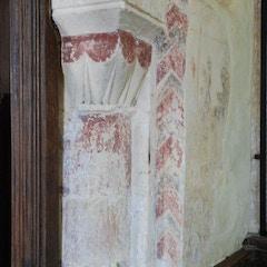 Murals on Chancel Arch