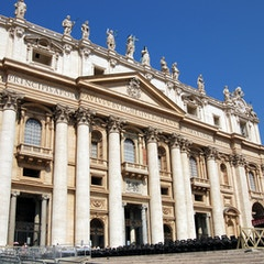Facade of St. Peter's Basilica