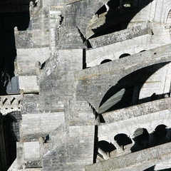Flying Buttresses from Above
