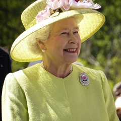 Portrait of Queen Elizabeth in 2007