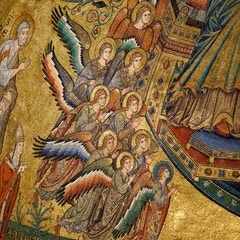 Apse Mosaic: Angels