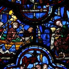 St. John Window: Exile to Patmos