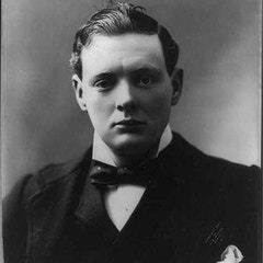 Young Winston Churchill (1900)