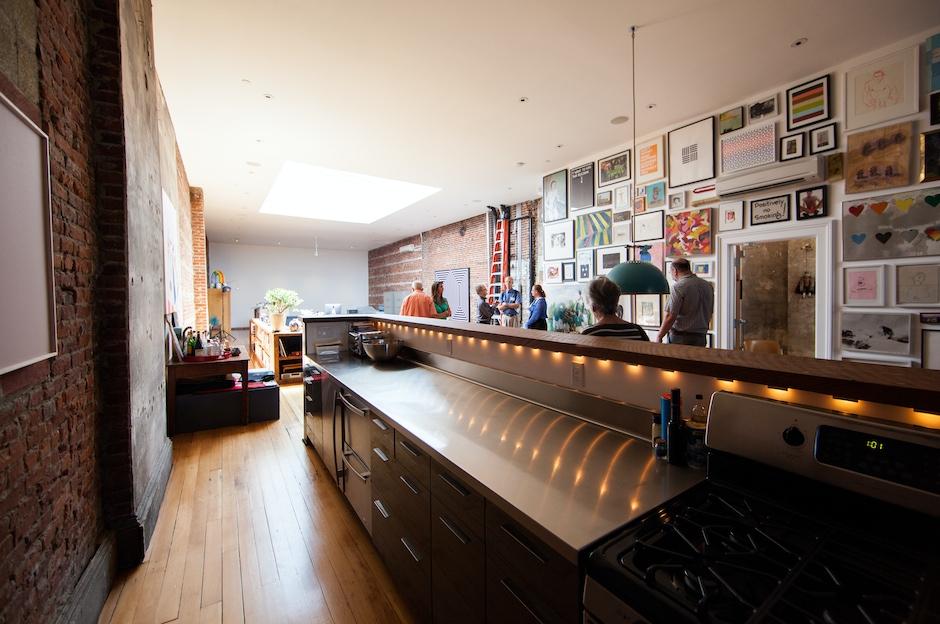 Top Floor: Kitchen
