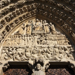 Last Judgment Portal (c.1230): Tympanum