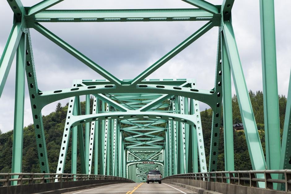 Bridge Deck, Looking North