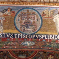 Triumphal Arch Mosaic: Center Detail