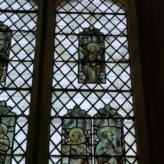Detail of Stained Glass in East Window