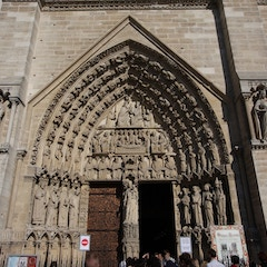 Portal of the Virgin (c.1220)
