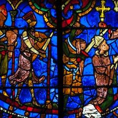 Thomas Becket Window 22-23: Murder by Knights