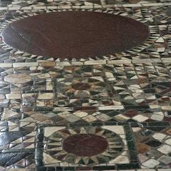 Roman Mosaic Pavement: Sun Discs