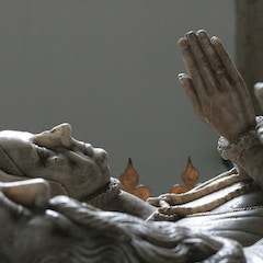 In Center of Chancel is Very Fine Monument to Lord Williams of Thame