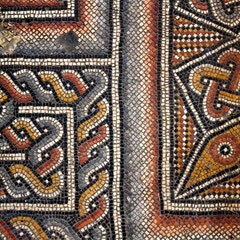 Fourth century mosaics