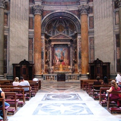 Left Transept and Altar of St. Joseph
