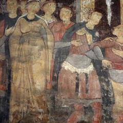 Fresco: Legend of Sisinnius (Detail)