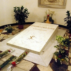 Tomb of Pope John Paul II (d.2005)