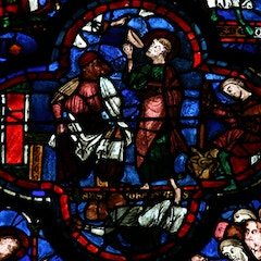 St. John Window: Drinking the Poisoned Cup
