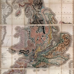 First Geological Map of Britain