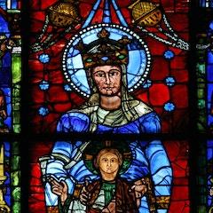 Blue Virgin Window (c.1150)