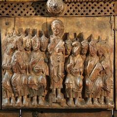 Wooden Door (c.1065): Pentecost
