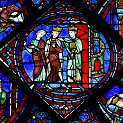 Charlemagne Window: Welcome to Constantinople